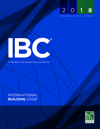 international building code, 2018. ICC graphic that is front of the book.
